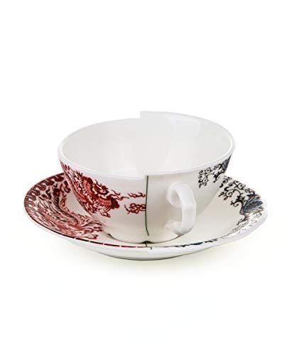 - Seletti Fine Bone China Tea Cup with Saucer Zora