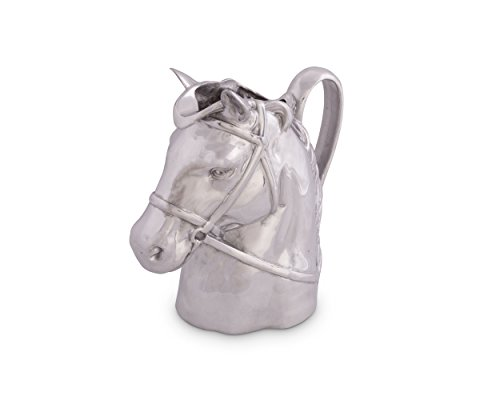 Arthur Court 2-1/2-Quart Thoroughbred (Dressage Horse Head)