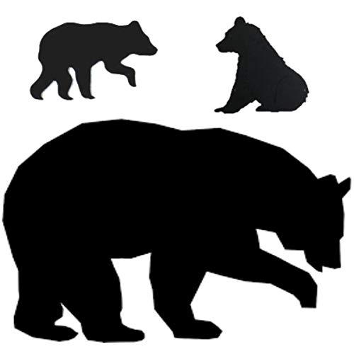 Momma Bear & Cub Set Stencil Mylar Bears Cubs Rustic Chic Primitive Animals Stencils (Mom 7