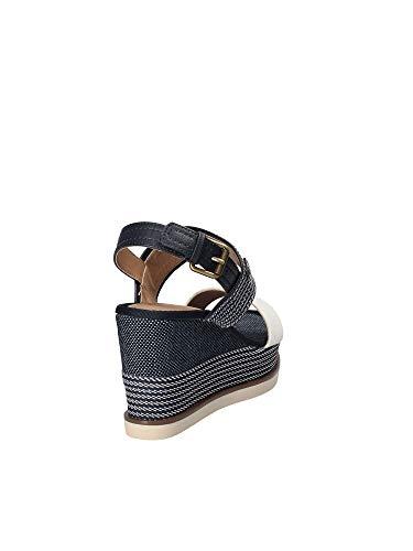 Zeppa Donna Wl181642 Wrangler Blu Sandalo qEf1xxt