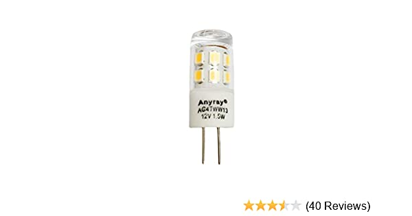 T10 LED Bulb for Landscape Lighting 9SMD 5050 Chip 1.6W 12V AC Replaces 10W