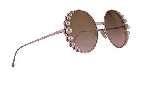 Fendi FF0295/S Sunglasses Pink w/Brown Gradient Lens 58mm 35J53 FF0295S FF 0295S FF 0295/S