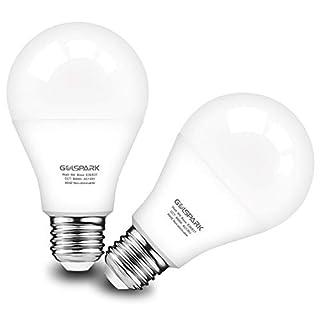Motion Sensor Light Bulb 9W (60W Equivalent),Golspark Radar PIR Activated LED Bulb,E26 Medium Base,Auto-on/Off Indoor Outdoor Lighting for Porch,Garage,Hallway,750lm,2 Pack (Motion Sensor 5000K)