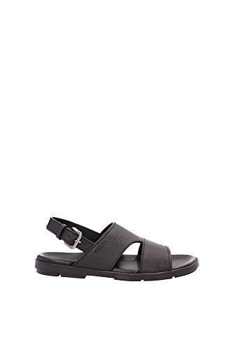 Prada - Sandalias de vestir para hombre Negro negro negro
