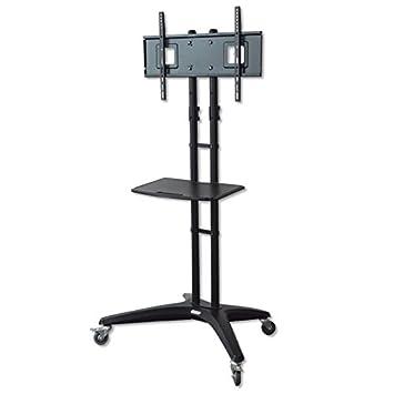 TM Electron TMSLC311 - Soporte de pie Universal con Ruedas para monitores o televisores, Color Negro: Amazon.es: Electrónica