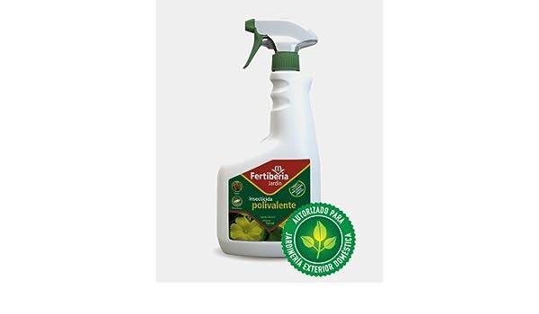 Insecticida Polivalente Listo Uso 750 Ml Fertiberia: Amazon.es: Jardín