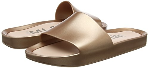 Pantoffeln Damen Shine Rose Gold Melissa Gold Slide Beach dIqawa46