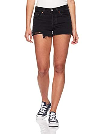 Levi's Women's 501 Short, Lunar Black, -24