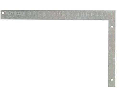 Johnson Level & Tool CS2 16-Inch x 24-Inch Steel Rafter Square