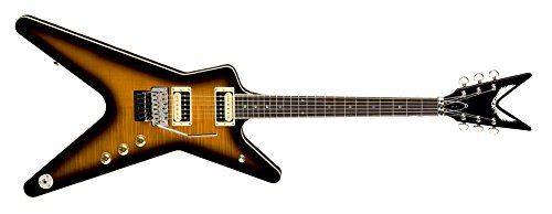 Dean ML 79 Guitar with Floyd Rose Tremelo, Trans Brazil