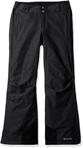 Columbia Women's Bugaboo Omni-Heat Insulated Snow Pant, Black, Black ,Small Regular, standard (Omnitech Womens Columbia)