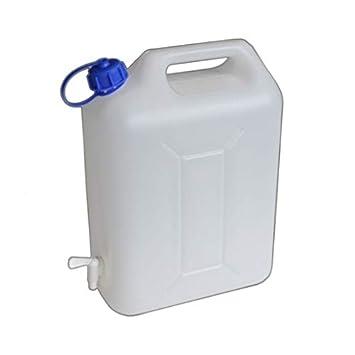 Fabulous 20L Wasserkanister mit Hahn, Lebensmittelecht, Geruchsneutral GM08