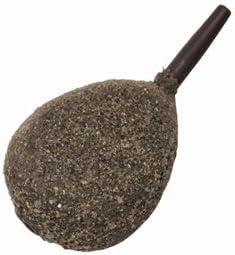 Quantum Radical Flat Pear Lead 142g Grundblei Karpfenblei