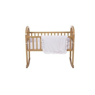 American Baby Company Heavenly Soft Minky Dot 3-Piece Cradle Set from American Baby Company
