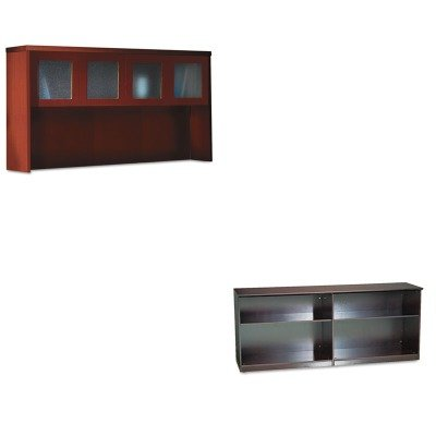 KITMLNAHG72LCRMLNVLCCMAH - Value Kit - Mayline Veneer Low Wall Cabinet without Doors (Aberdeen Low Wall Cabinet)