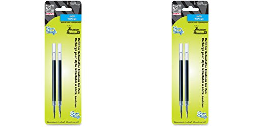 Zebra Pen ZEB-87312 Refilleq Emulsion 2pk, 2 Packs