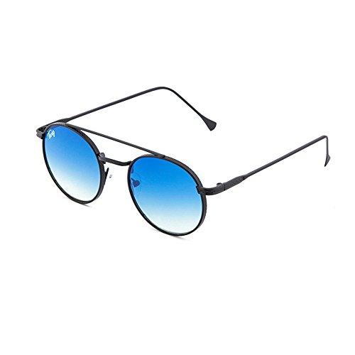 Negro mujer redondo hombre MONTESQUIEU de sol Gafas Degradado TWIG Azul xqS0ZIY