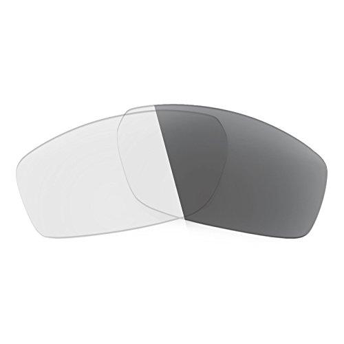 Verres de rechange pour Spy Optic Dirty Mo — Plusieurs options Elite Adapt Gris photochromique