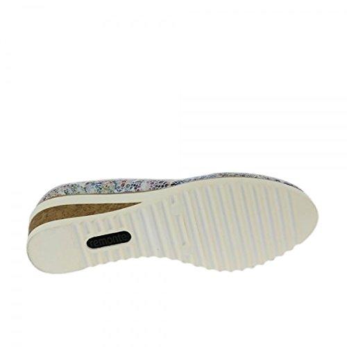 De Multiflower Mujer Para Zapatos Tacón Remonte D5500 Ice 90 XqwY7xW