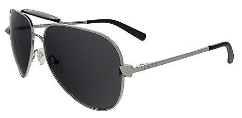 Valentino Unisex Aviator Sunglasses V115 - Valentino Silver Sunglasses Shopping Results