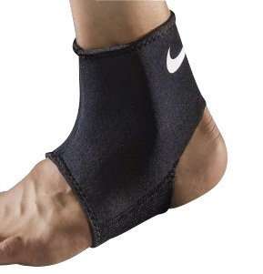 Price comparison product image Nike Pro Combat Ankle Sleeve 2.0 (Black / white; Size:large)