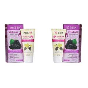 58a82fd5241 Amazon.com: MORE ON Mulberry Women Fariness Cream 100 gm (50 g x 2 ...