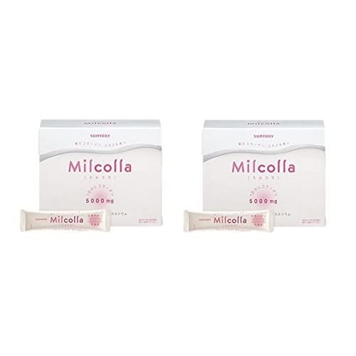 Image of Health and Household Suntory Milcolla Collagen Powder (30days' Supply) [Japan Import] Set of 2