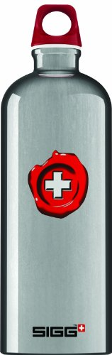 Sigg Lifestyle Loop Top Water Bottle (0.6-Liters, Swiss Quality, Aluminum)