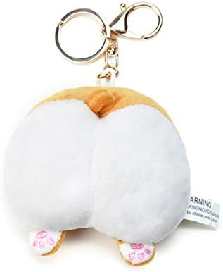 kimtery 面白い動物のキーホルダーペンダント防錆キーホルダーアクセサリー財布ハンドバッグ