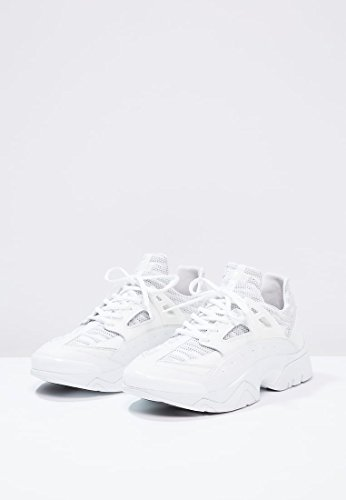 Kenzo sonic gummy mesh white