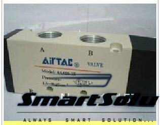 Fincos Pneumatic air Valve airtac Type 4A410-15 Port 1//2 inch 5 Way 2 Position air Control Valve