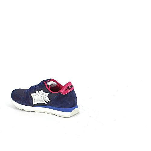 E Blu Tessuto In Tecnico Sneaker Suede gvwEnqE7