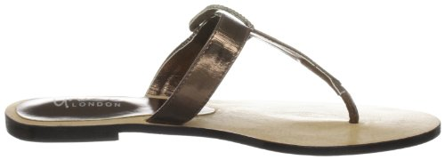 Unze Evening Slippers L18266W - Sandalias para mujer Marrón