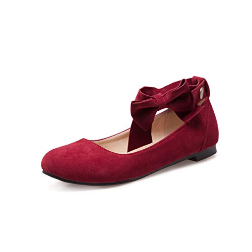 Flat Head Casual Women's Shoes Mouth Shallow Round qpSnf