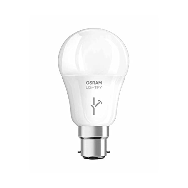 Osram Lightify Smart Home Connected LED Light Bulb E27-9,5W//60W-Replacement//Dimmable//Warm White to Day Light 2700 K 6500 K