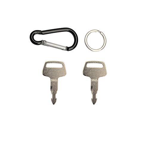 5080 Ignition Key Models Fit IHI Mini-Excavator Marooka Chieftain 069029029 F4 (Pack of 2) - Parts Ihi