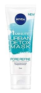 NIVEA 1 Minute Urban Skin Detox Mask Pore Refine, 75 milliliters