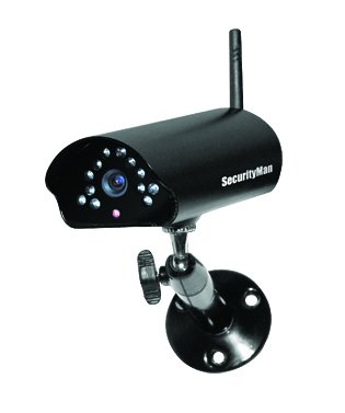 SecurityMan SM-816DT Surveillance/Network Camera - Color, Monochrome (Indoor Camera Securityman Color)