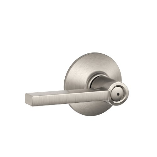 Schlage F40VLAT619 Latitude Style Privacy Lever, Satin Nickel