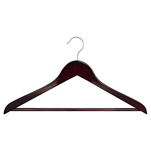 Proman Genesis Flat Suit Hanger with Bar - 50 Pieces by Proman Products LLC (Genesis Flat Suit Hanger)