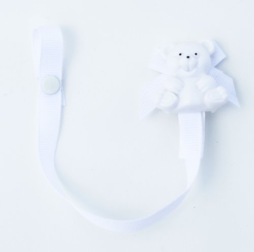 Buddy Pacifier Holder White 1 Pack product image