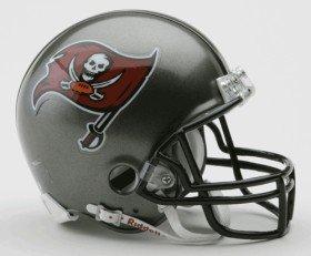 Tampa Bay Buccaneers 97-13 Riddell VSR4 Mini Football Helmet (Football Helmet Tampa Bay Buccaneers Replica)