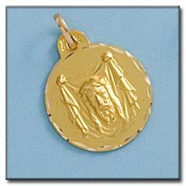 Médaille D'or 18kt Santa Fe 19mm