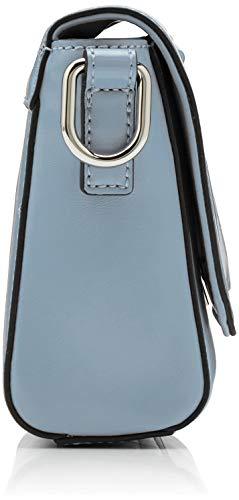 Grey Para Trussardi Jeans Bandolera w H easy L T Mujer Monocolor X Cacciatora Bolso light Centimeters 14x16x6 Gris RT0Rrwq