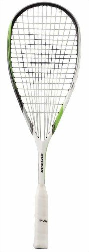 DUNLOP Biomimetic Max HL Squash Racquet - White/Green/Black