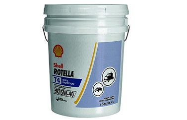 Shell Rotella 550019916 T Triple Protection 15W-40 Heavy Duty Engine Oil -1 - 5 Gallon Pail (Shell Rotella T 15w40)