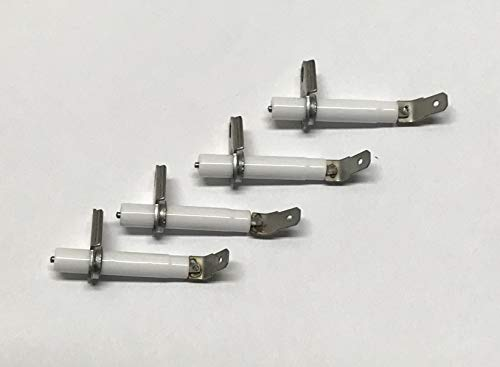 (GRP Replacement for STOVE RANGE SURFACE SPARK IGNITER FOR WHIRLPOOL 8523793 - SET OF 04)