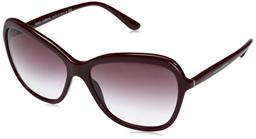 Dolce-Gabbana-Womens-Acetate-Woman-Square-Sunglasses-Bordeaux-590-mm