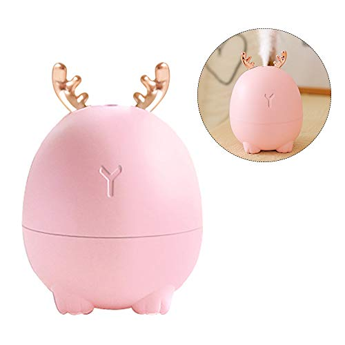 Weehey Mini diffuseur d'huile Essentielle d'humidificateur d'air Diffuseurs USB d'humidificateur pour ménage Aromatherapy