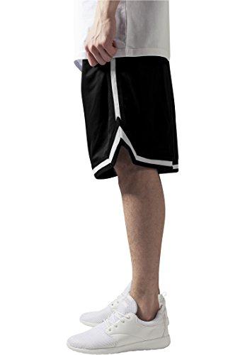 Urban Classics Stripes Mesh Shorts Pantaloncini Uomo